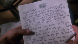 Mickey's Letter