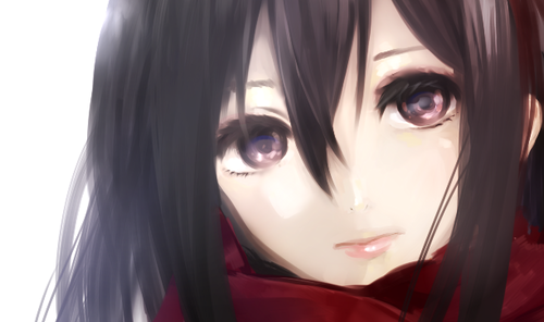 Shingeki no Kyojin (Attack on titan) wallpaper entitled Mikasa Ackerman