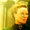 Harry Potter photo with a portrait entitled Minerva McGonagall