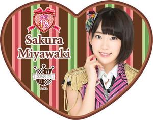 Miyawaki Sakura - Valentine 浓情巧克力 Box (Feb 2015)