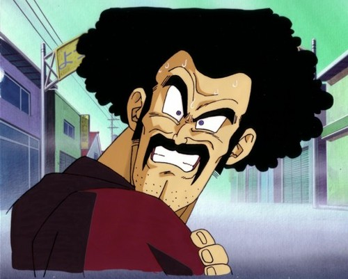 Dragon Ball Z wallpaper possibly with Anime called Mr. Satan/Hercule