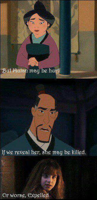 Mulan cold be hurt