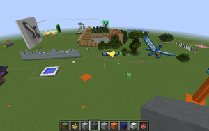 My Amazing minecraft world