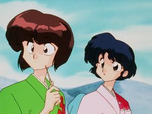 Nabiki and Akane (らんま½ アニメ)