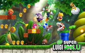New Super Luigi U wallpaper