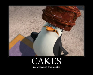 Not everyone likes cakes