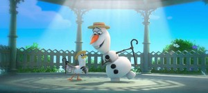 "Olaf in the song "" In Summer"""