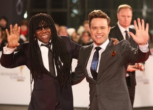 Olly and Nile Rodgers at Die Goldene Kamera Ceremony