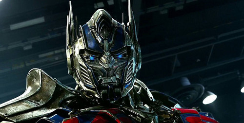 Transformers karatasi la kupamba ukuta titled Optimus Prime - Age of Extinction