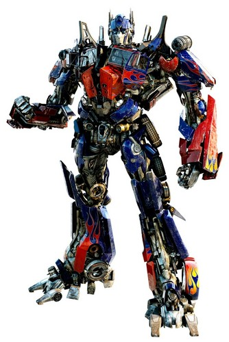 Transformers karatasi la kupamba ukuta titled Optimus Prime - Dark of the Moon