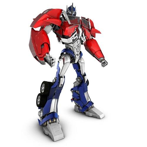 ट्रांसफॉर्मर्स वॉलपेपर called Optimus Prime - ट्रांसफॉर्मर्स Prime