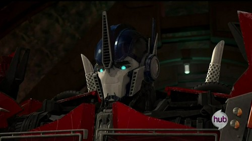 Transformers karatasi la kupamba ukuta containing an internal combustion engine called Optimus Prime - Transformers Prime