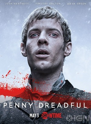 Penny Dreadful Season 2 Dr. Victor Frankestein official poster