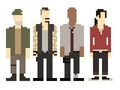 Pixel Surivors - left-4-dead fan art