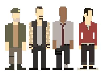 Left 4 Dead fondo de pantalla entitled Pixel Surivors