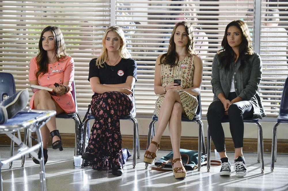Pretty Little Liars 5.19 ''Out, Damned Spot''