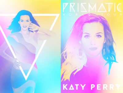 Katy Perry wallpaper possibly containing a portrait called Prismatic World tour Programme Book Covers