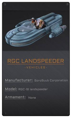 RGC Landspeeder
