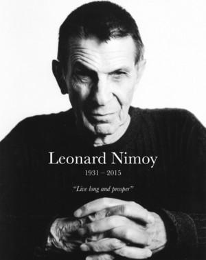RIP Leonard Nimoy 1931-2015