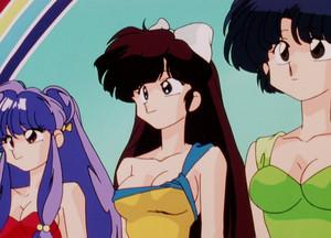 Ranma 1/2 Akane, Ukyo, and Shampoo (らんま1/2) (란마 ½)