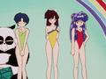 Ranma 1/2 Akane, Ukyo, and Shampoo