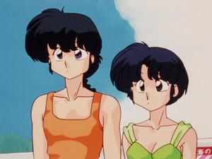 Ranma 1 2 Ranma and Akane