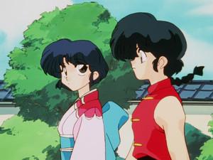 Ranma 1/2 anime (らんま½ アニメ) Ranma and Akane