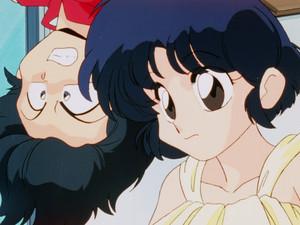 Ranma and Akane (Ranma 1/2 anime) らんま½ 乱馬とあかね
