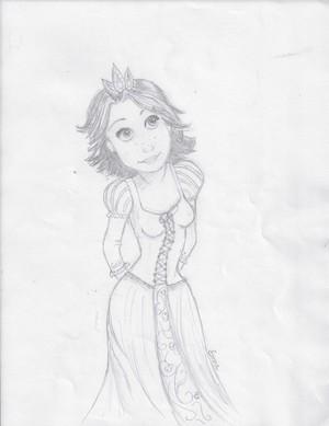 Rapunzel door Emmalou13