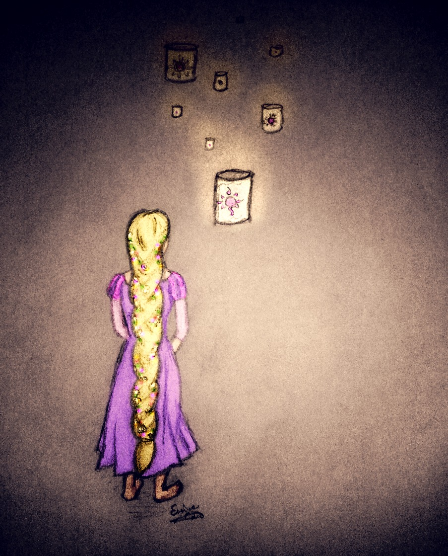 Rapunzel fan art
