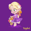 Rapunzel   - tangled fan art