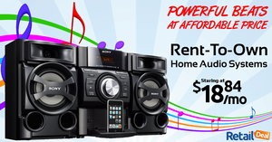 Rent-To-Own প্রথমপাতা Theatre Systems