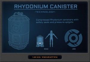 Rhydonium Canister