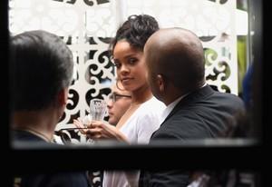 Rihanna Roc Nation Pre-GRAMMY ناشتا, برونکہ