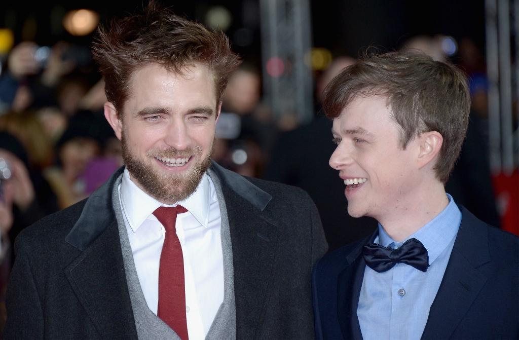 Robert and Dane at Life premiere in Berlin