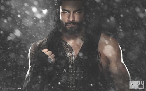 wwe wallpaper entitled Roman Reigns - Royal Rumble 2015 Winner