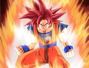 SSJG Goku**