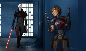 Sabine's Last Stands Against The Inquisitor