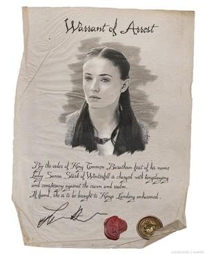 Sansa Stark - Wanted Poster