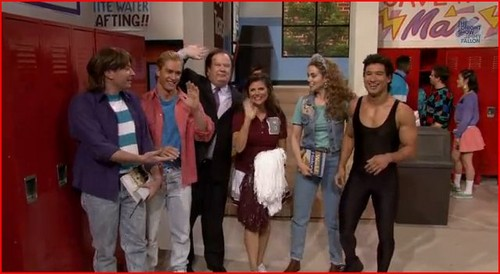 Saved by the Bell wallpaper with a street titled Saved By the Bell Reunion