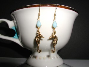 Seahorse Dangle Earrings