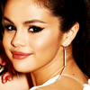 Selena Gomez litrato containing a portrait and attractiveness titled Selena Icon