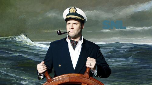 Seth Rogen Hintergrund titled Seth Rogen Hosts SNL: April 12, 2014