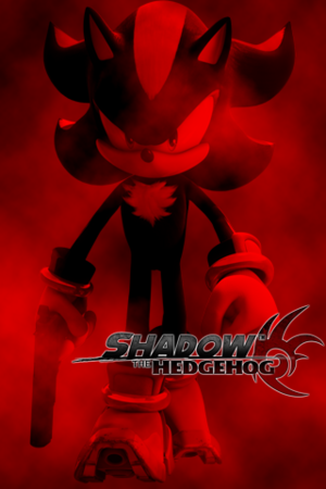 Shadow The Hedgehog karatasi la kupamba ukuta