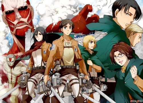 Shingeki no Kyojin (Attack on titan) wallpaper probably containing anime titled Shingeki no Kyojin!~