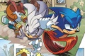 Silver being dragged - silver-the-hedgehog photo