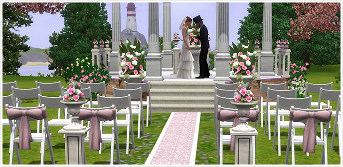 The Sims 3 Images Sims 3 Wedding Pics Wallpaper And Background