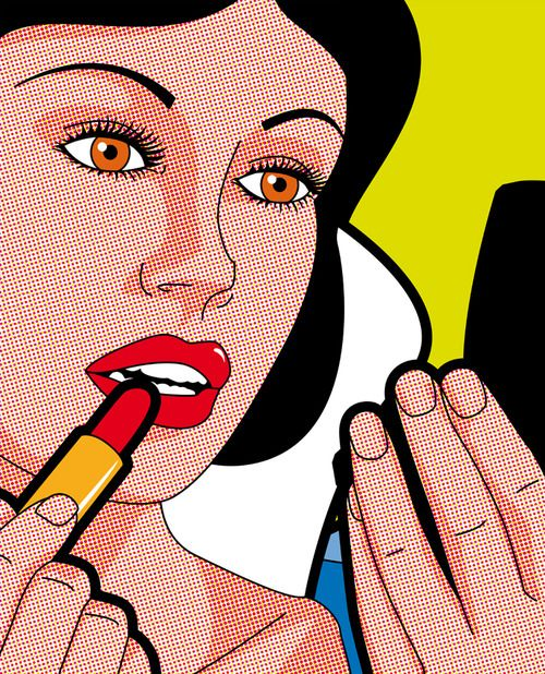 Snow White Pop Art