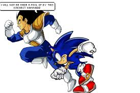 Sonic vs Vegeta