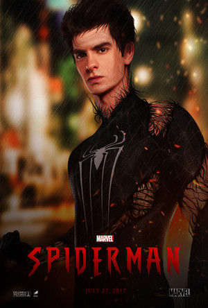 Spiderman Reboot Poster Fan 2017
